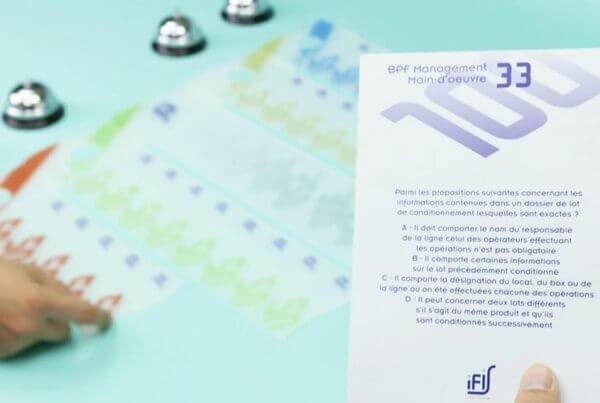 Formation BPF gamifiée - Serious game
