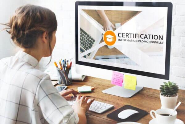 La charte et la certification - e-learning