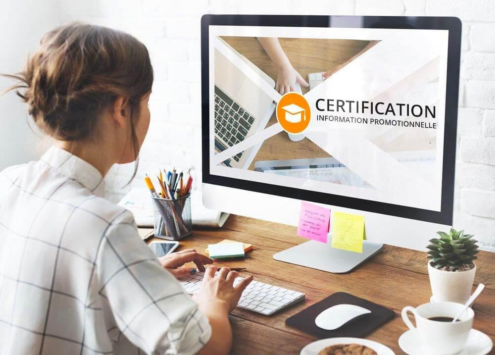La charte et la certification – e-learning