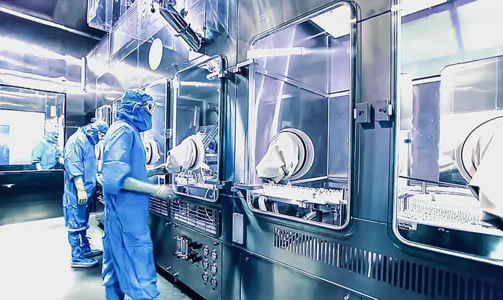 Laboratoire de fabrication pharmaceutique
