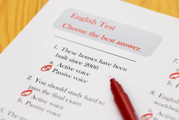 Évaluer son niveau d'anglais scientifique - e-learning